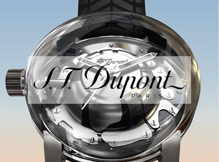 Lancement de la nouvelle montre ST Dupont : l'Hyperdôme