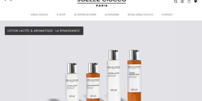 Next Level Com prend soin du site Joëlle Ciocco