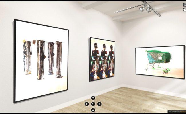 Une nouvelle exposition virtuelle en 3D signée Artgence 3D pour MoCADA et l'artiste Theda Sandiford