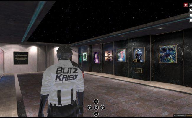 IT IS ALL AROUND US : la 1° exposition NFT en 3D immersive par Artgence 3D
