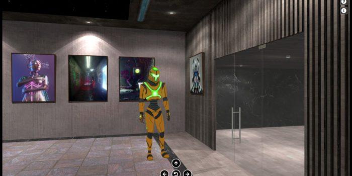 IT IS ALL AROUND US : Artgence 3D présente la première exposition virtuelle NFT en 3D immersive