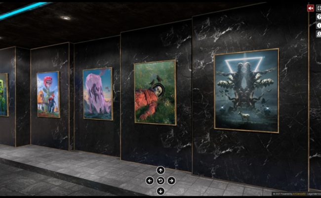 Artgence 3D expose Beeple l'artiste NFT qui bat tous les records de vente