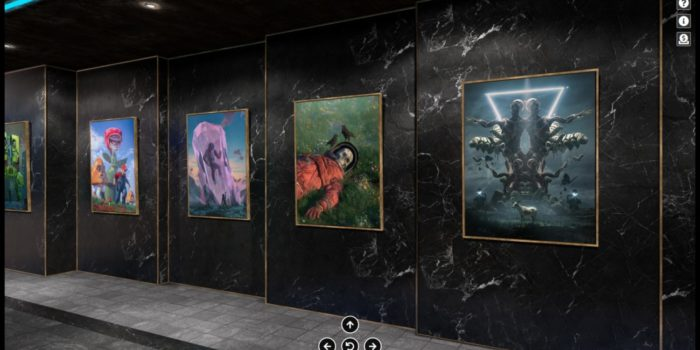 Top NFT Artist Beeple in the new summer edition of the IT IS ALL AROUND US virtual exhibition