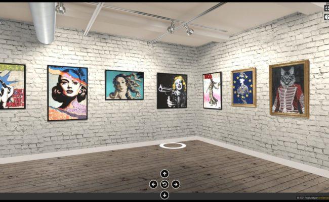 Grâce à Artgence 3D , l'artiste FAMAX basé en Nouvelle-Calédonie expose partout dans le monde